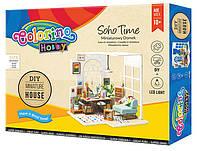 Набір для творчості Мініатюрний будинок SOHO TIME, Colorino