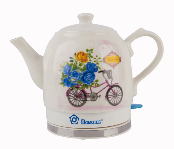 Електрочайник керамічний DOMOTEC MS-5051 | електричний чайник