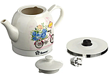 Електрочайник керамічний DOMOTEC MS-5051 | електричний чайник, фото 2