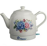 Электрочайник керамический DOMOTEC MS-5052 | электрический чайник, фото 1