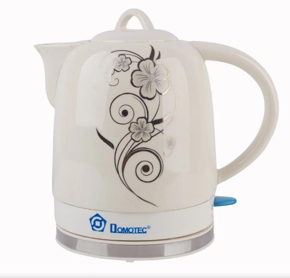 Електрочайник керамічний DOMOTEC MS-5058 | електричний чайник