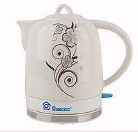 Электрочайник керамический DOMOTEC MS-5058 | электрический чайник, фото 1