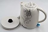 Електрочайник керамічний DOMOTEC MS-5058 | електричний чайник, фото 2