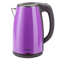 Электрочайник Magio MG-513N фиолетовый | электрический чайник термос, фото 1