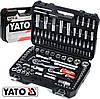 Набор инструментов ключей головок 108 элементов Yato YT-38791
