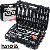 Набор инструментов ключей головок 108 элементов Yato YT-38791, фото 1