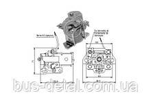 Втягуюче реле стартера ZM ZM2901 Mercedes-Benz Unimog ZM2901