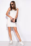 Платье-туника женское 516F310-1 (Молочный), фото 1