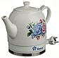 Электрочайник керамический DOMOTEC MS-5052 | электрический чайник, фото 3