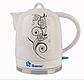 Электрочайник керамический DOMOTEC MS-5058 | электрический чайник, фото 2
