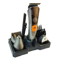 Машинка для стрижки волос BROWN МР-5580 KM-580A 7в1 | Триммер бритва, фото 1