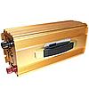 Преобразователь напряжения 1000W 12V-220V KM чистая синусоида | Автомобильный инвертор
