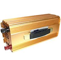 Преобразователь напряжения 1000W 12V-220V KM чистая синусоида | Автомобильный инвертор, фото 1