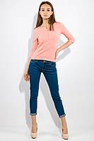 Джемпер женский с рукавом 3/4 436V016-1 (Розовый), фото 1