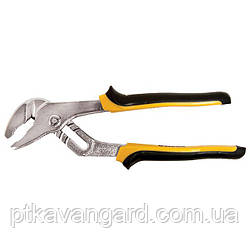 Клещи переставные для труб 200мм с желто-черными ручками Sigma (4102841)