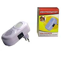 Ультразвуковой отпугиватель крыс и мышей Ultraphone | Электронный кот от грызунов, фото 1