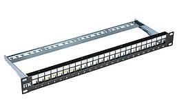 Патч-панель модульная FTP, 24 порта 1U, ITK