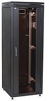 "Черный серверный шкаф 19"" ITK LN05-24U68-G LINEA N 24U 600х800мм"