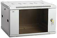 """Сірий серверна шафа 19"""" ITK LWR3-09U64-GF LINEA W 9U 600х450мм"""