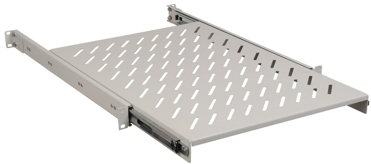 """Висувна полиця 19"""" ITK SS35-800PI глибиною 800мм (сіра)"""