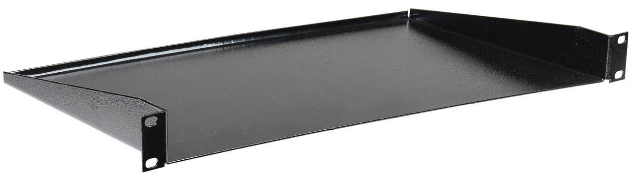"""Консольная полка 19"""" ITK RS05-350P глубиной 350мм 2U (черная)"""