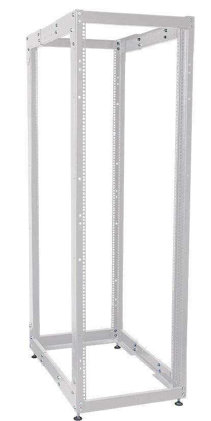 """Сіра двухрамная стійка 19"""" 33U ITK LF35-33U68-2R 600х1000мм"""