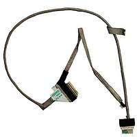 Шлейф матрицы для ноутбука Toshiba (C660, C660D) +разъем для камеры, LVDS 40pin