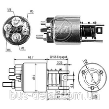 Втягуюче реле стартера ZM ZM2395 Bmw 3, Bmw 5, Bmw X3, Bmw Z3, Bmw Z4 ZM2395