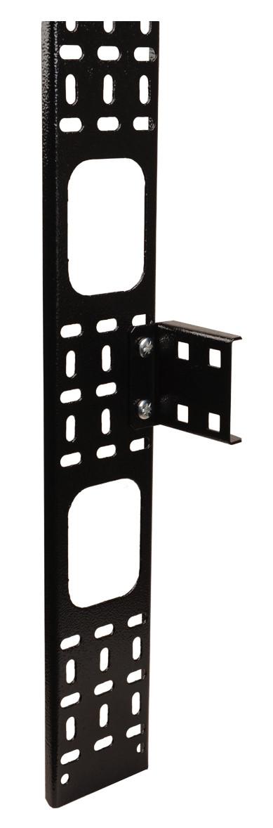 Вертикальный кабельный органайзер 33U ITK CO05-15033 150x12мм (черный)