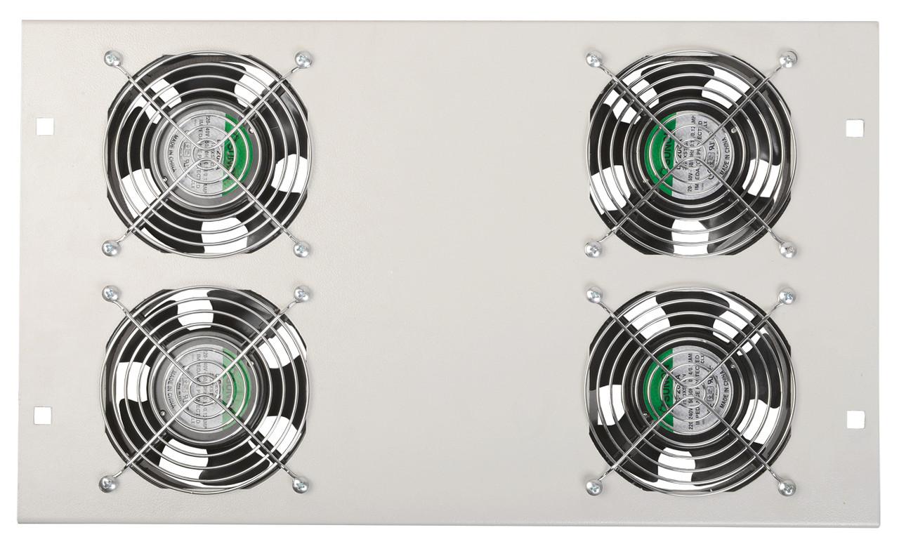 Потолочная вентиляторная панель ITK FM35-41 на 4 вентилятора (серая)