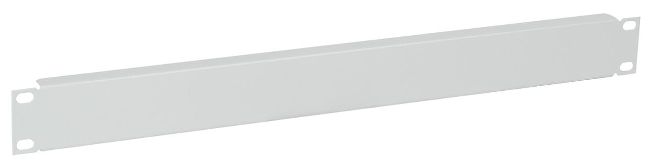 """Серая фальш-панель (заглушка) 19"""" 1U ITK FP35-01U"""