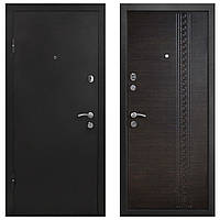 Дверь входная Министерство Дверей мет/мдф ПУ-63 Венге темный 2050х860мм левая
