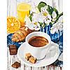 Набір для творчості «Картини за номерами– «Ранкові ласощів» 40*50см.