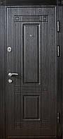 Дверь входная Министерство Дверей мдф/мдф ПО-67 Венге структура 2050х960мм правая