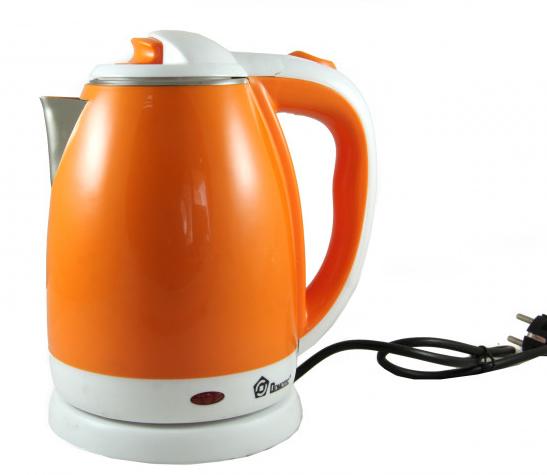 Електрочайник DOMOTEC MS-5022 2л помаранчевий   електричний чайник