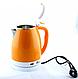 Електрочайник DOMOTEC MS-5022 2л помаранчевий   електричний чайник, фото 2