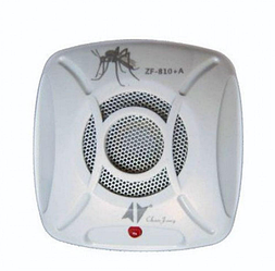 Ультразвуковой отпугиватель комаров ZF810A от сети 220V | ловушка для насекомых | приманка для комаров