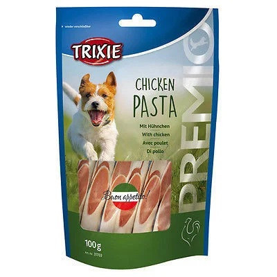 Лакомство для собак и щенков Trixie PREMIO Chicken Pasta паста с курицей 100г