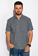 Рубашка с коротким рукавом 511F027 (Грифельно-зеленый)