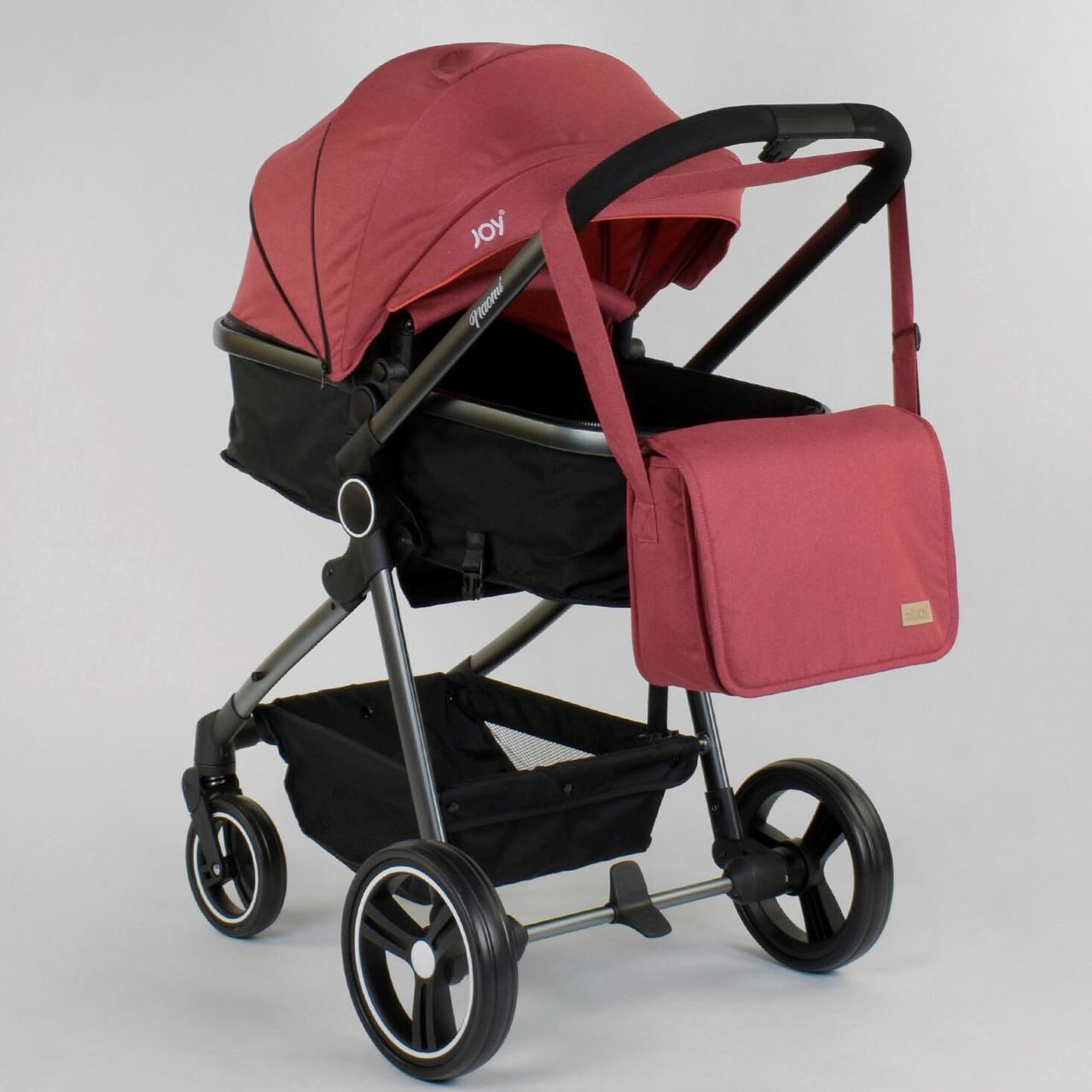 """Коляска дитяча трансформер """"JOY"""" Naomi 80793 (1) універсальна 2 в 1 Гарантія якості Швидка доставка"""
