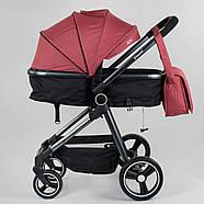 """Коляска дитяча трансформер """"JOY"""" Naomi 80793 (1) універсальна 2 в 1 Гарантія якості Швидка доставка, фото 2"""