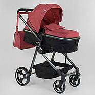 """Коляска дитяча трансформер """"JOY"""" Naomi 80793 (1) універсальна 2 в 1 Гарантія якості Швидка доставка, фото 4"""