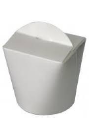 Коробка бумажная (лапша) ФЛТ 500мл белая 50/уп 300/ящ
