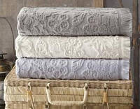Набор 4 полотенца Pupilla Maya 50х90см (лицевые), хлопок