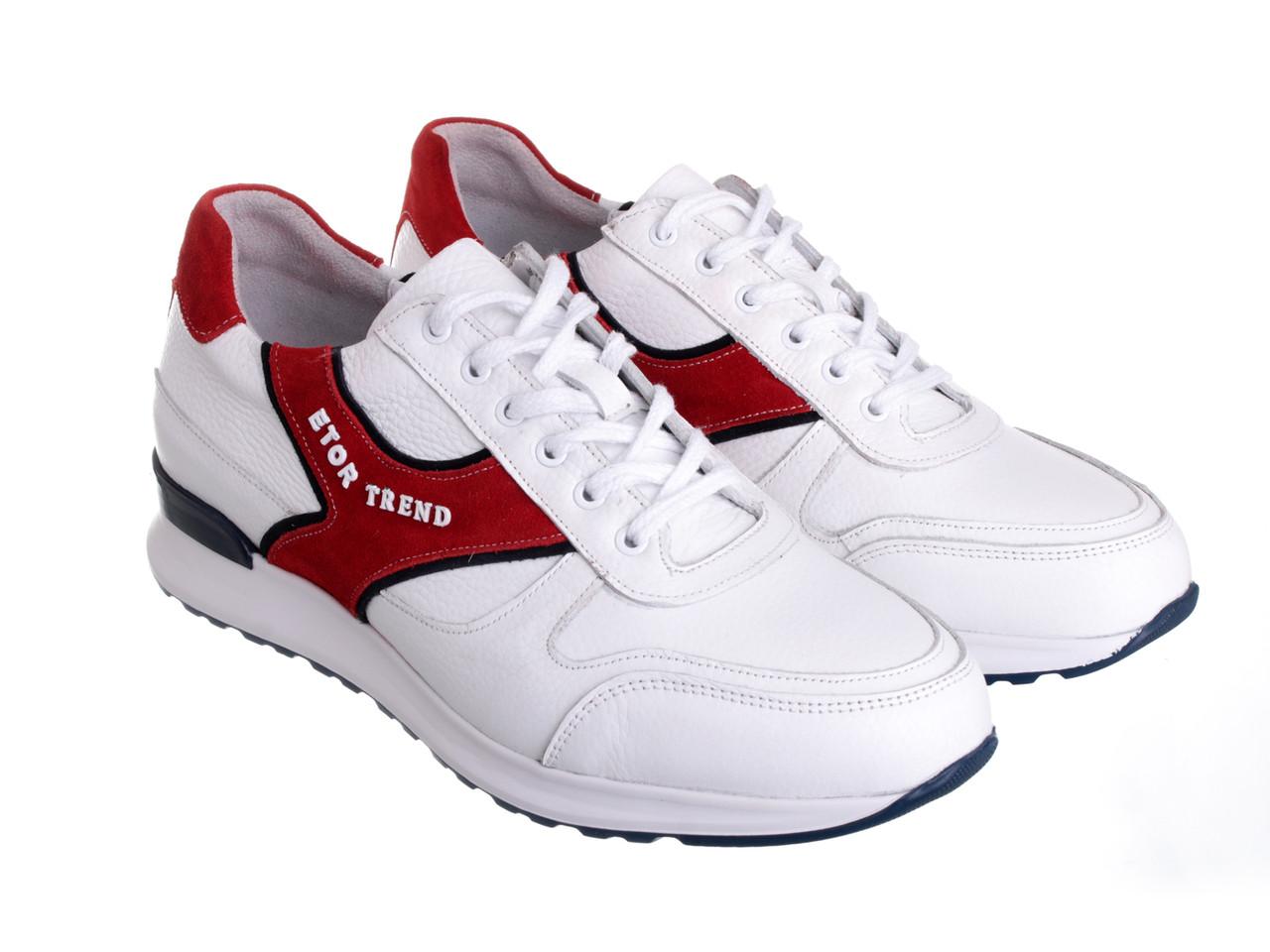 Кроссовки Etor 9040-944-2350 45 белые