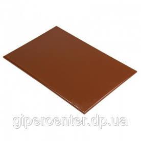 Доска разделочная HACCP GN 1/1 - коричневая