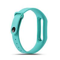 Ремешок TPU для фитнес-браслета Xiaomi Mi Band 2 Turquoise, фото 2