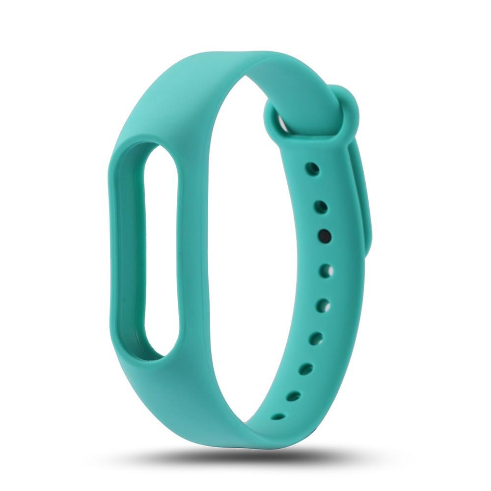 Ремешок TPU для фитнес-браслета Xiaomi Mi Band 2 Turquoise