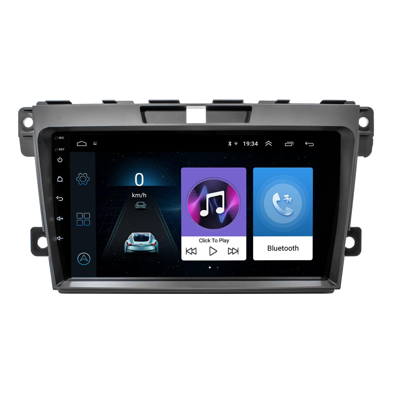"""Штатная автомобильная магнитола Mazda CX-7 (2008-2014 г.) 9"""" память 2/32 Гб GPS Can модуль IGO Wi Fi Android"""