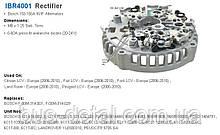 Діодний міст генератора TRANSPO IBR4001 IBR4001